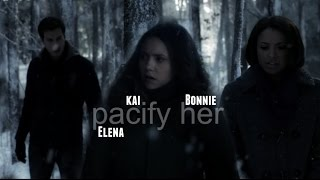 Chris Wood, Kai + Bonnie (+Elena) | Pacify Her