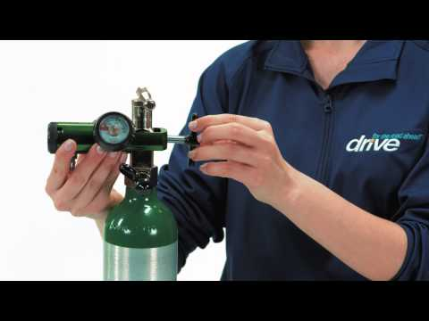 Changing Oxygen Regulator Here's a quick overview on how to properly change and use your oxygen regulator.