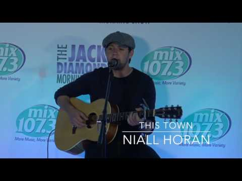 Niall Horan Performs This Town In The Mix107.3 Lounge Mp3