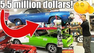 This Is A Muscle Car ONLY The Rich Can Afford!! You Won't Believe How Many This Guy Has ♂️..