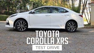 Test Drive - Toyota Corolla XRS