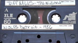 Jeff Mills aka The Wizard @ WJLB Detroit, USA 1986 to 1989