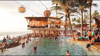 [4K] Top 3 Best Beach Club In Bali : Finns, Potato Head, Mrs Sippy