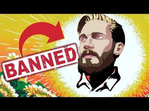 PewDiePie被中國封殺