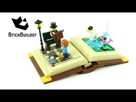 Vidéo LEGO Objets divers 40291 : Creative Personalities Hans Christian Andersen