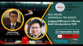 Judging Difficulty in Trampoline and Brief Introduction to Tumbling