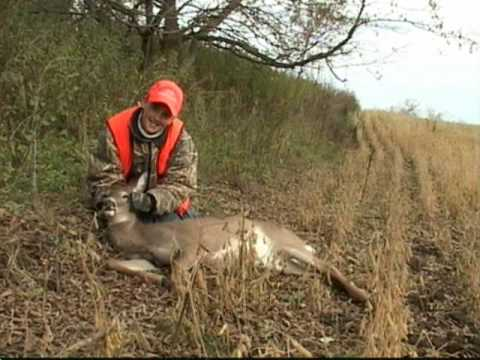 Austin's First Buffalo County Whitetail Hunting Harvest