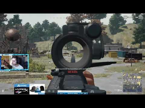 Shroud Kills The Entire Population Of Military Island!   Playerunknown's Battleg HD 60fps