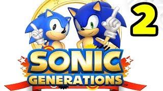 РЕАЛЬНО КРУТЫЕ УРОВНИ - Sonic Generations #2