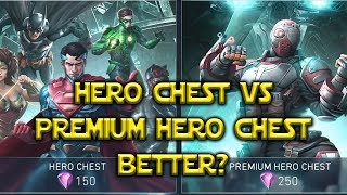 Injustice 2 Mobile: What Chest Is Better? Amazing Opening