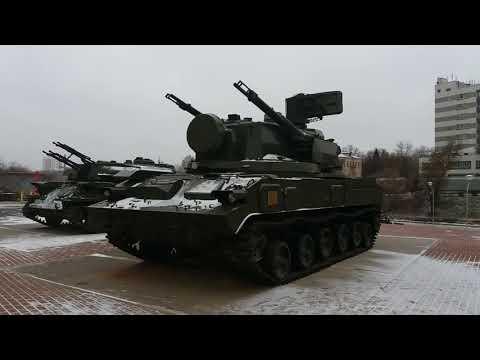 Выставка военной техники в г. Щёлково