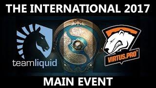 Team Liquid vs VP GAME 2, The International 2017, VP vs Team Liquid