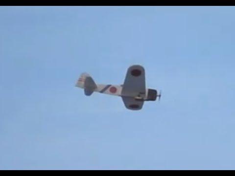 MinimumRC A6M2 Zero Flying in the Breeze