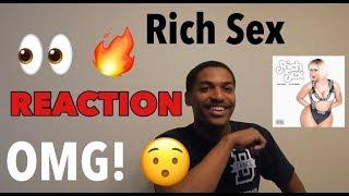 NICKI MINAJ - RICH SEX REACTION FT. MY FRIEND!!!! | Take A Chance