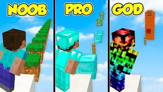 Minecraft ITA - Da NOOB a PRO a GOD NEL PARKOUR!!