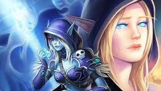 Как сердце Сильваны было разбито в последний раз. Warcraft | Вирмвуд