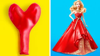 Funny Crafts For Your Barbie || 34 Ways To Transform Your Dolls Life!