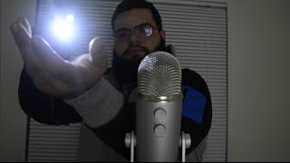 ASMR exploring triggers with flashlight (tapping, visual, no talking)
