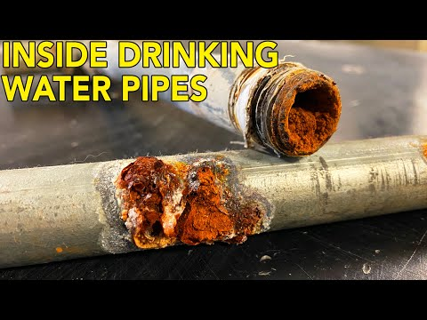 What's Inside Your Pipes? Lots Of Rust!