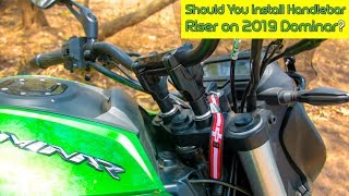 Dominar 2019 With And Without Handlebar Riser | Which One Is Good? | #GyaniGuruvar