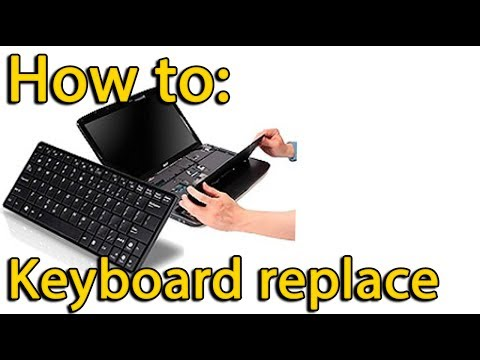How to replace keyboard on Acer Aspire V3-731, V3-771 laptop
