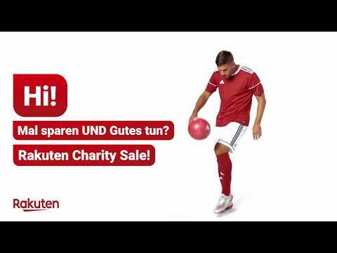 Mit Lukas Podolski und Rakuten Gutes tun - Rakuten Charity