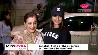 Sonakshi Sinha at the screening of 'Welcome to New York'