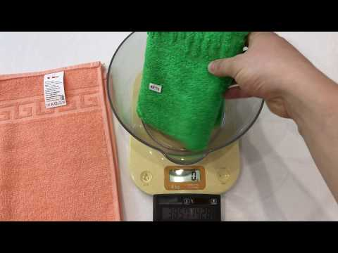 Как определить плотность махрового полотенца (полотенца Туркменистан Ашхабад, полотенца Узбекистан)