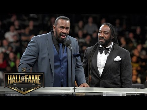 """Booker T on Stevie Ray: """"My brother always had my back"""": WWE Hall of Fame 2019 (WWE Network)"""