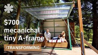 $700 mechanical micro-A-frame blends with Montana wilderness