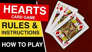 How to Play Hearts : Rules of Hearts Card Game