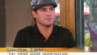 George Eads on The Early Show (04-06-2004)