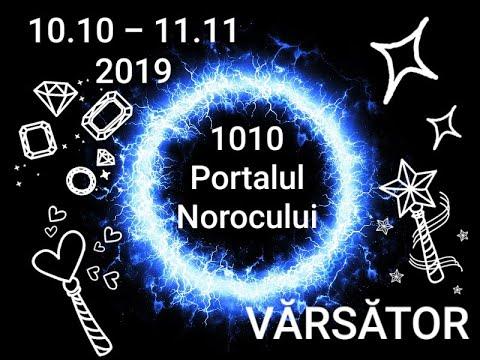 VĂRSĂTOR - Portalul Norocului - 10.10.2019-11.11.2019