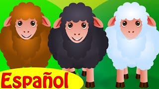 Baa Oveja Negra - ¡La alegría de compartir! | Canciones infantiles en Español | ChuChu TV