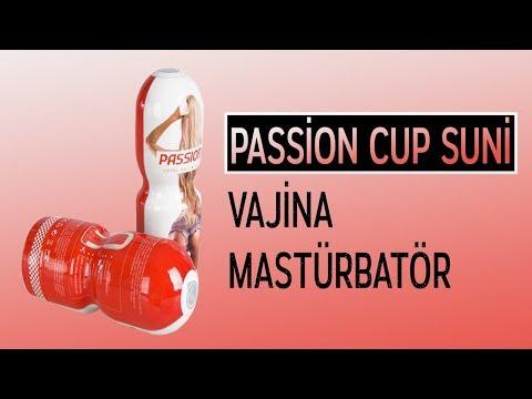 Passion Cup Suni Vajina Mastürbatör