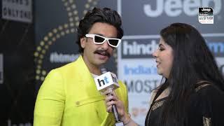 Ranveer Singh Talks About The Changes Deepika Padukone Is Making To His Closet