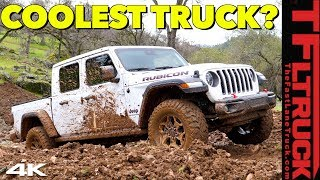 Is The New 2020 Jeep Gladiator Pickup As Good Off-Road as a Jeep Wrangler? Here's The Verdict!