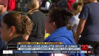 Breakdown of Arvin High School lockdown timeline