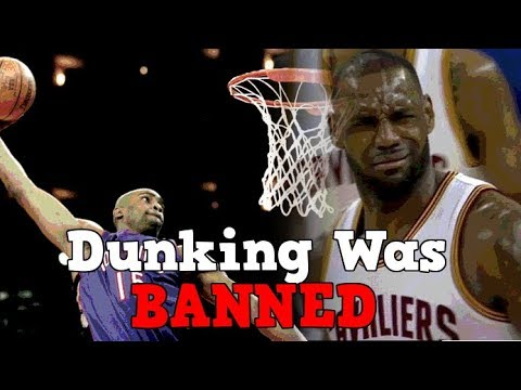 The Time Dunking Was BANNED in Basketball
