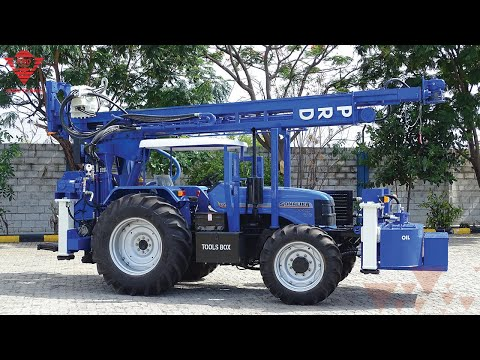 Tractor Mounted Drilling Rig