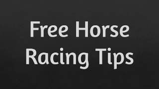 Free Horse Racing Picks - How to profit with horse racing!
