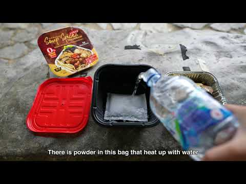 Self Heating Vegetarian Hot Pots