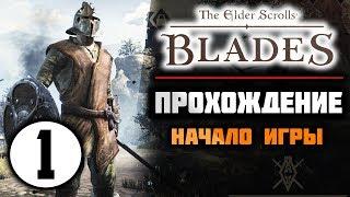THE ELDER SCROLLS: BLADES прохождение || НАЧАЛО ИГРЫ и ПЕРВЫЙ ОБЗОР ( #1 )