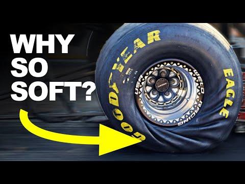 The Secret Behind Dragster Tires