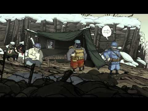 Valiant Hearts The Great War - Глава 2 Изрытая земля