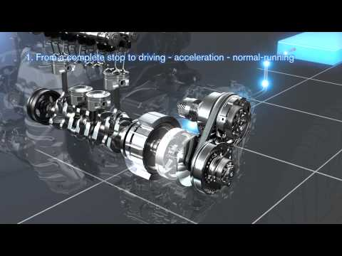 Фото к видео: [NISSAN] New Hybrid System (for front-wheel drive vehicles)