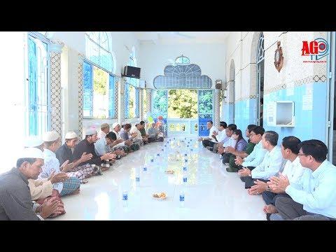 Lãnh đạo tỉnh thăm, tặng quà lễ Roya Haji đồng bào dân tộc Chăm