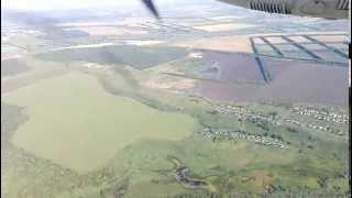 Вылет из аэропорта г. Саранска. Departure from Saransk Airport (SKX)