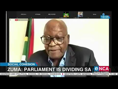 Parliament is diving South Africa Zuma