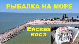 Рыбалка на азовском море в ейске